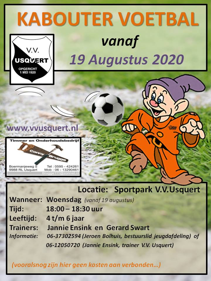 Affiche Kabouter Voetbal